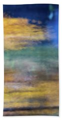 Merced River Reflections 12 Beach Towel