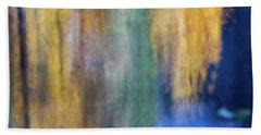Merced River Reflections 17 Beach Towel