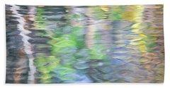 Merced River Reflections 9 Beach Towel
