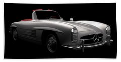 Mercedes 300 Sl Roadster Beach Sheet