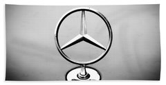 Mercedes Benz Logo Beach Towel