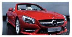 Mercedes Benz Sl Beach Towel