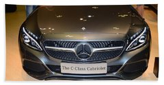 Mercedes Cabriolet Beach Towel