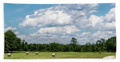 Mercer County Landscape Beach Towel