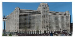 Merchandise Mart Beach Towel