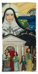 Mercy Foundress Catherine Mcauley Beach Sheet