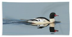 Merganser Panorama Beach Towel