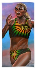 Merlene Ottey Beach Towel