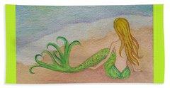 Mermaid Sunset Beach Sheet