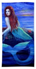 Mermaid's Dinner Beach Towel