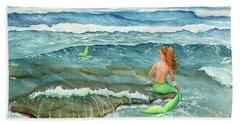 Mermomma Beach Towel