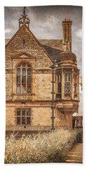 Oxford, England - Merton Street Beach Towel