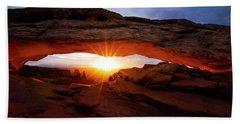 Mesa Arch Sunrise Beach Sheet