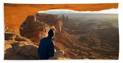 Mesa Arch Beach Towel