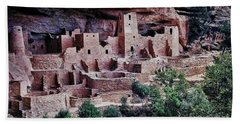 Mesa Verde Beach Towel by Heather Applegate