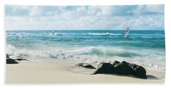 Beach Towel featuring the photograph Messengers Of Light by Sharon Mau