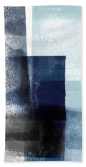 Mestro 4- Abstract Art By Linda Woods Beach Towel