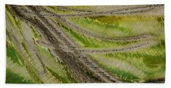 Beach Towel featuring the photograph Metal Abstract Two by David Waldrop