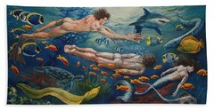 Metamorphosis Beach Towel