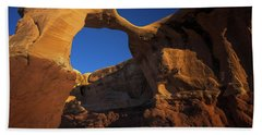 Metate Arch Beach Towel
