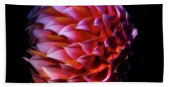 Meteor Dahlia Beach Towel