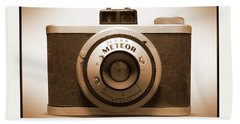 Beach Sheet featuring the photograph Meteor Film Camera by Mike McGlothlen