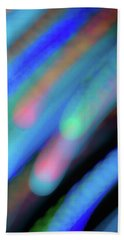 Meteor Storm Beach Towel
