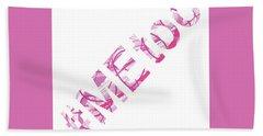 #metoo Me Too Movement Original Prints Fine Art Beach Sheet