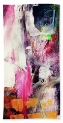 Metro 2- Art By Linda Woods Beach Towel