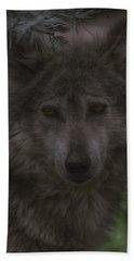 Mexican Grey Wolf Beach Towel