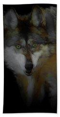 Mexican Grey Wolf Da2 Beach Towel