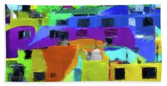 Mexican Homes Beach Towel by Gary Grayson