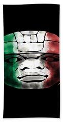 Mexican Olmec Beach Towel