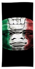 Mexican Olmec Beach Towel