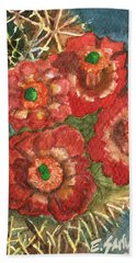 Mexican Pincushion Beach Towel by Eric Samuelson