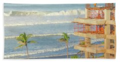 Mexico Rising Beach Towel