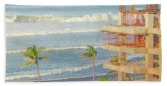 Mexico Rising Beach Towel