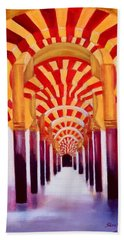 Mezquita De Cordoba Beach Towel by Manuel Sanchez