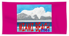 Miami Beach 2016 Beach Towel