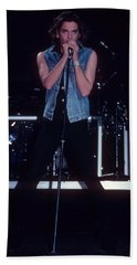 Michael Hutchence Beach Towel