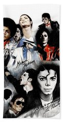 Michael Jackson - King Of Pop Beach Towel