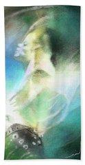 Michael Jackson 15 Beach Sheet by Miki De Goodaboom