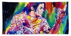Michael Jackson Showstopper Beach Towel