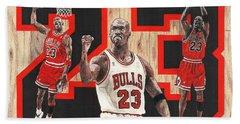 Michael Jordan Beach Towel