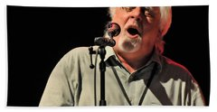 Michael Mcdonald At Tampa Bay Beach Towel