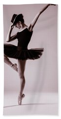 Michael On Pointe 2 Beach Towel