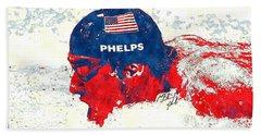 Michael Phelps Beach Towel