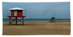Michigan City Lifeguard Station Beach Sheet