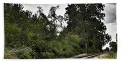 2003 - Michigan Rails I Beach Towel