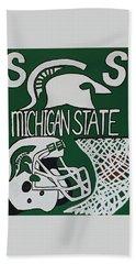 Michigan State Spartans Beach Sheet